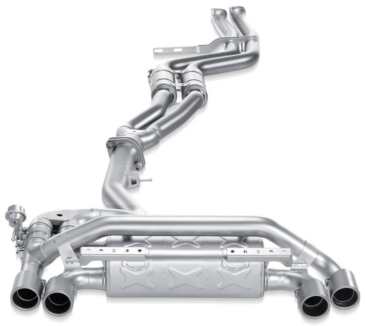 Escape Akrapovic Evolution Line Titanio BMW 1M E82