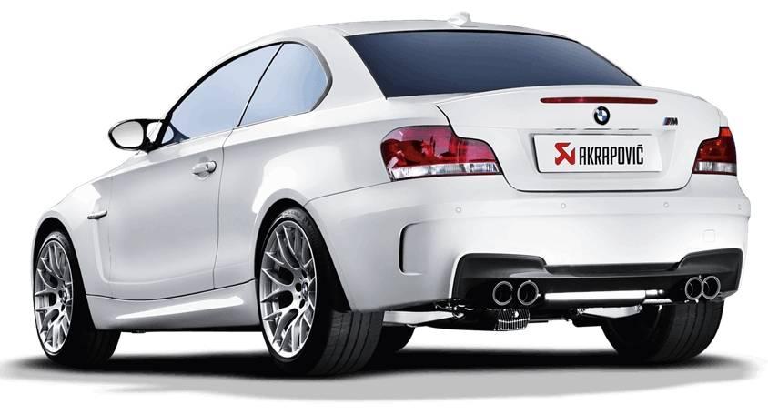 Escape Akrapovic Evolution Line Titanio BMW 1M E82