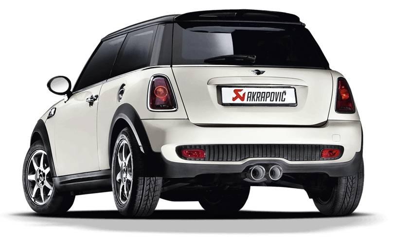 Sistema de escape Akrapovic Evolution Line SS Mini Cooper S JCW N14B16A