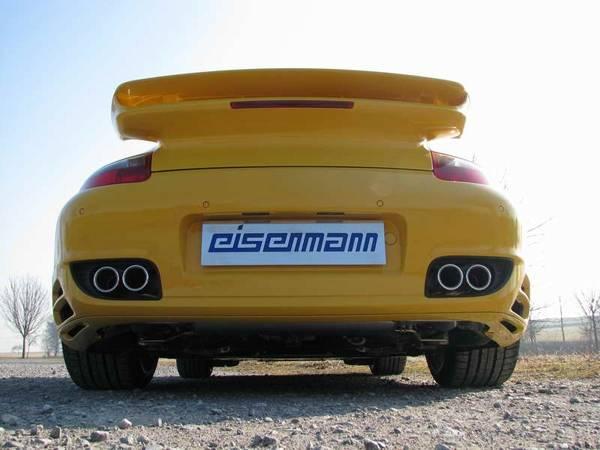 Escape Eisenmann performance Porsche 997 Turbo