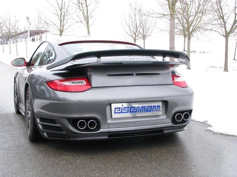 Escape Eisenmann performance Porsche 997 Turbo Restyling