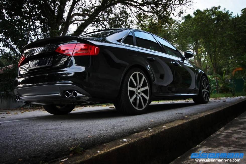 Escape Eisenmann Audi A4 A5 B8 3.2 FSI