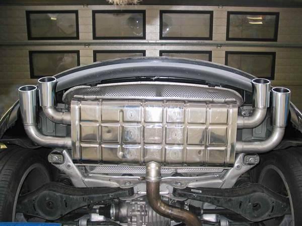 Escape Eisenmann Audi TT 8J 3.2 V6