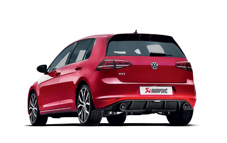 Escape Akrapovic Slip On Titanio Volkswagen Golf VII GTI
