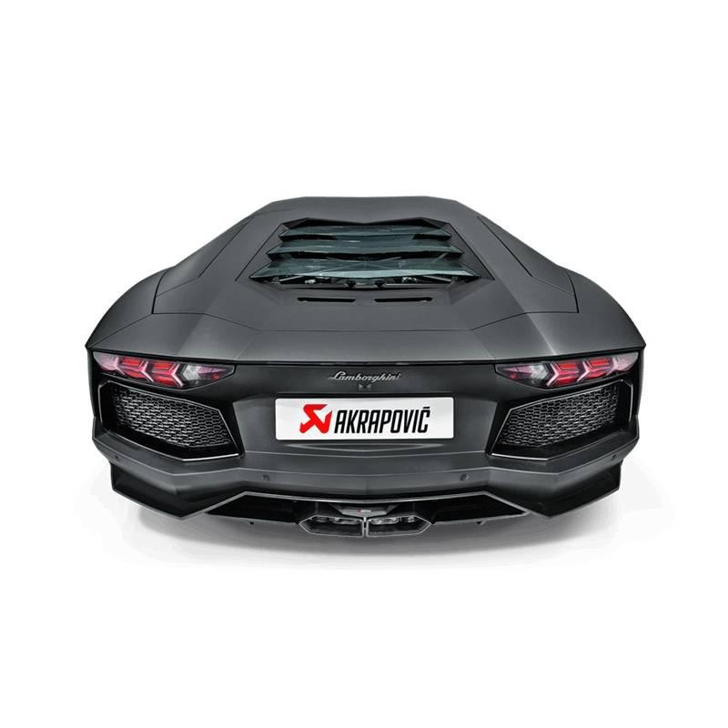 Escape Akrapovic Slip On Titanio Inconel Lamborghini Aventador LP 700-4