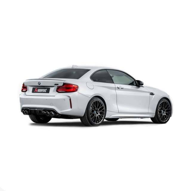 Akrapovic Slip On Titanio BMW M2 Competition