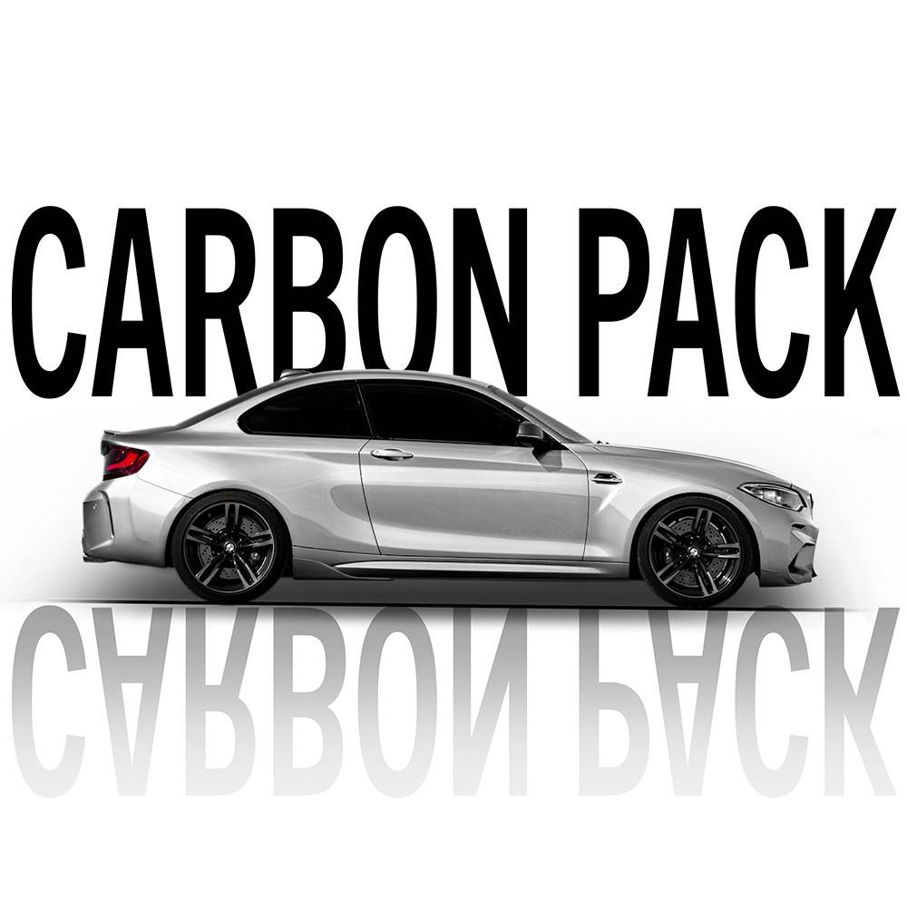 Carbon Pack tipo Performance BMW M2
