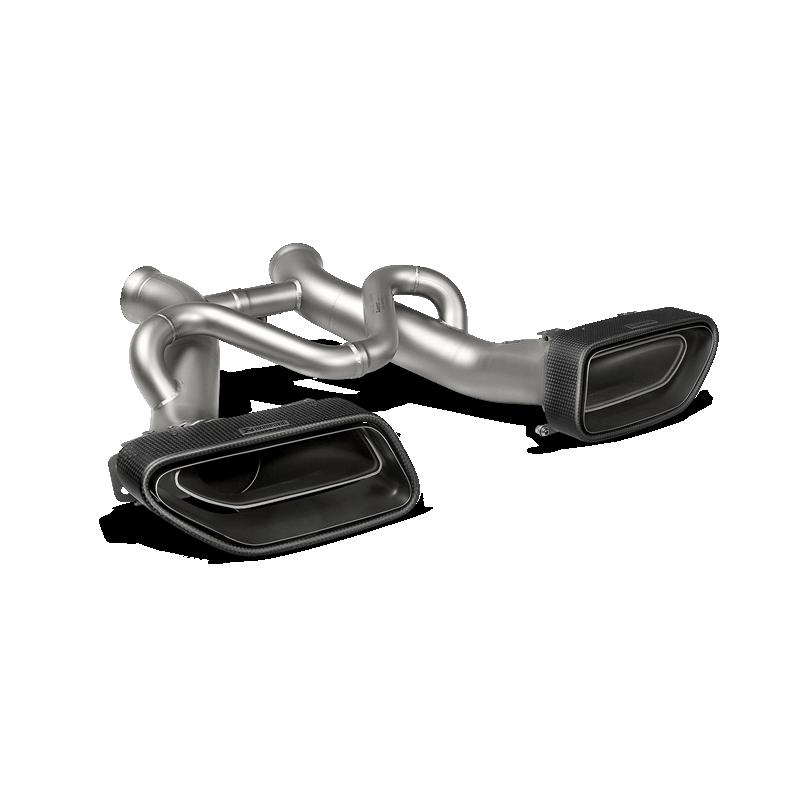 Escape Akrapovic Slip On Titanio McLaren 650S