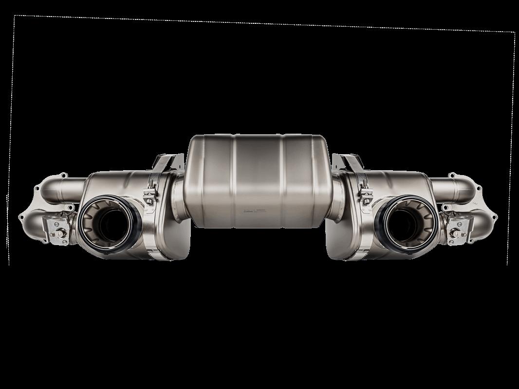 Sistema de Escape Akrapovic Porsche 718 Cayman GTS 4.0 / Boxster GTS 4.0 – OPF/GPF 2020