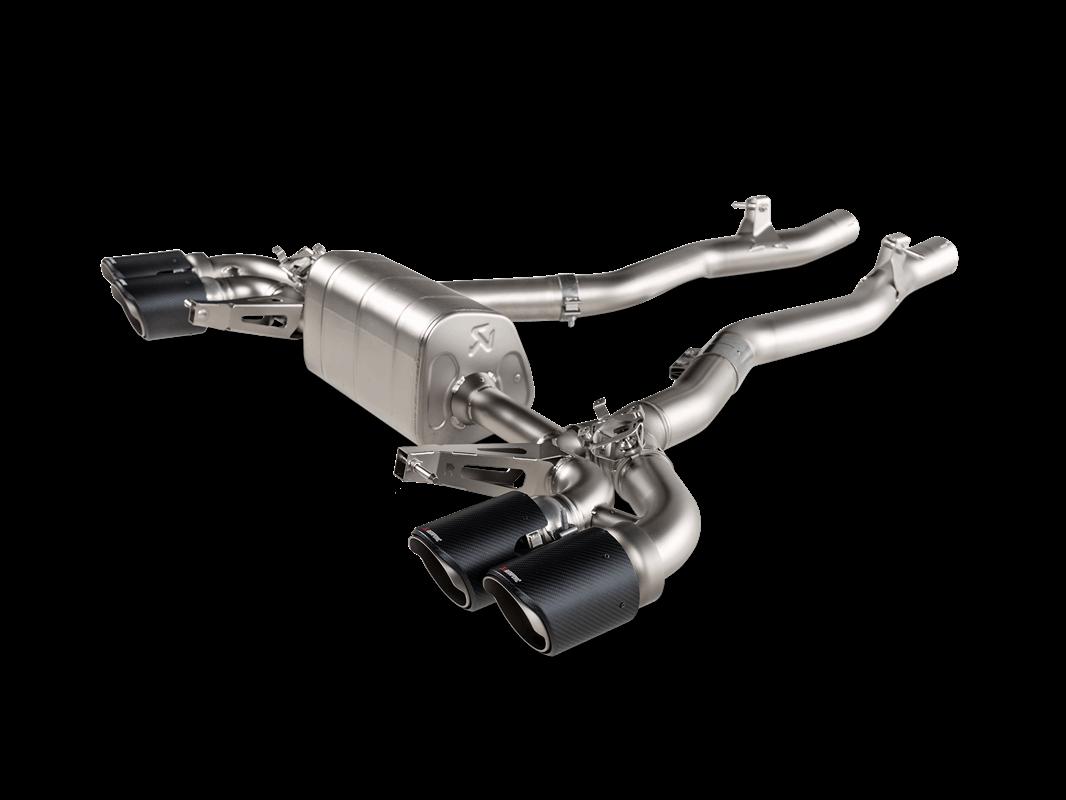 Sistema de escape Akrapovic BMW M8 / M8 Competition Gran Coupé (F93) – OPF/GPF 2020